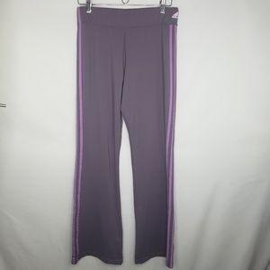 Adidas Purple Lavender Wide Leg Track Pants